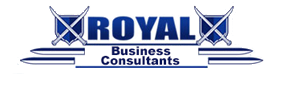 royal business consultants logo best possible price for your business